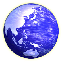 地球と少林寺拳法イメージ